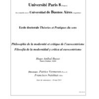 filosfia de la modernidad y Critica al eurocentrismo.pdf